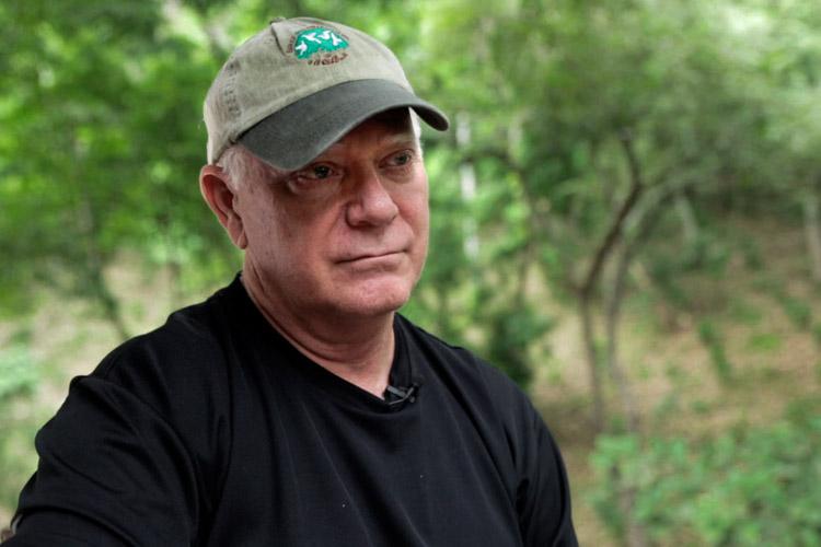 Robert Rice on Jefferson's farm in Nicaragua
