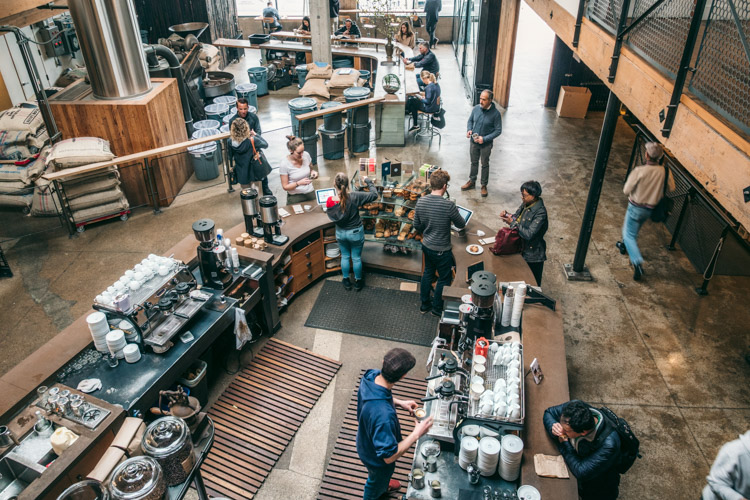 Sightglass Coffee in San Francisco