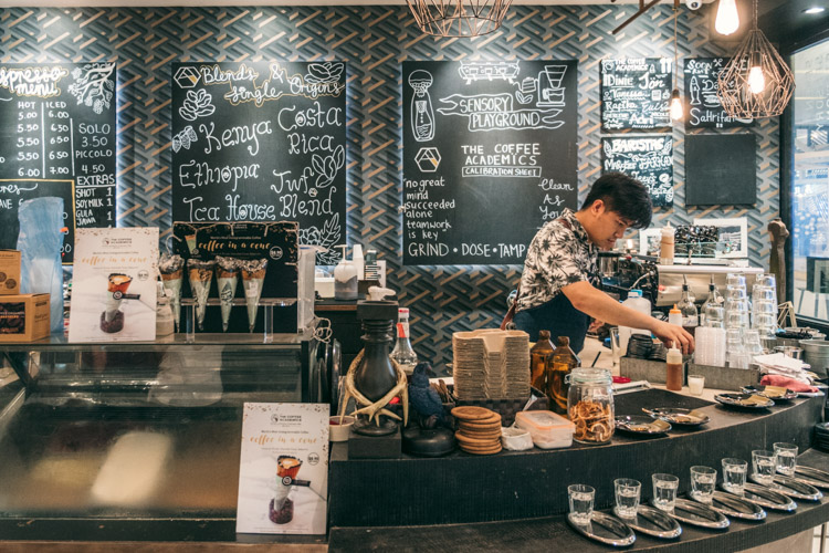 The Coffee Academïcs at Scotts Square in Singapore