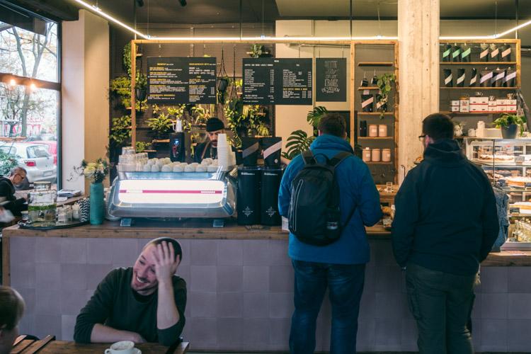 Rösterei Kaffee Kirsche at  Böckhstrasse 30, Berlin